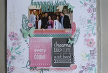 My scrapbook projects / Cardmaking, Project Life, Scrapbooking
