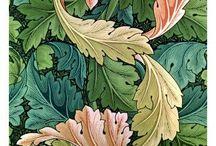 Tapicería y textiles estilo botánico