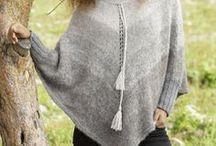 Poncho trico