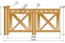 Деревянные ограждения балконов и терасс