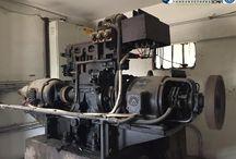 vintage elevator photos / Vintage elevator motor system