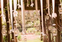 Outdoor western / Lace and Burlap