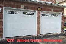 Designer Garage doors / Designer garage doors..