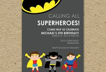 Conors Party / Super hero party
