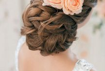 Wedding Hair & Makeup / Gorgeous wedding hair and makeup inspiration. Ideas for bridal hair and wedding updos, wavy hairstyles, down hair styles, long wedding hairstyles, sensual and bold makeup and much more.