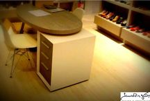 DESKS / Tailor made design and construction