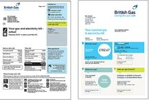 Electricity & gas bill