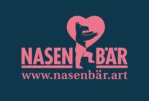 Nasnbär - Art and love