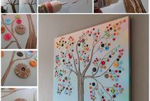 Trees, in crafts