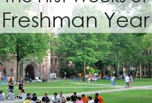 Freshman College Experience / A survival guide to the freshman year of college. / by Lella Shaffner