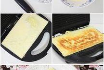 pão  de queijo de sanduicheira II