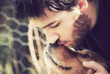 Hund und Menschen Fotografie