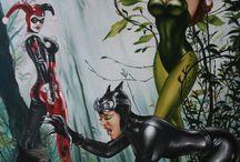 Batman e outros heróis