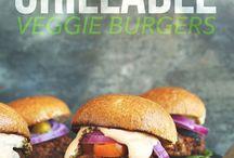 Burgers & Sandwiches / Recipes for burgers, veggie burgers, sandwiches.