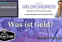 Online-Geldkongress / Alles Wissenswerte zum kommenden Online-Geldkongress