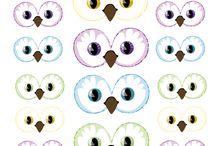 de beaux yeux