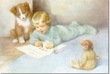 Illustrations by Bessie Pease Gutmann