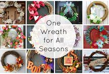 Wreaths / by Dee H.