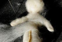 фелтинг кукла