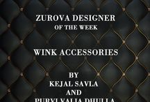 Wink Accessories / Wink Accessories - a line of hand crafted office bags, clutches, accessories and limited edition gift hampers is delineated by Kejal Savla and Purvi Valia Dhulla to perfect precision. You can find their collection right here at Zurova: http://bit.ly/1OQuwqg