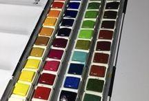 boyalar ve teknikler