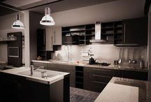 Dark Kitchens / by Modern Age Designs, LLC