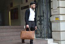 Meet The Model – Ateeb Khan / Male fashion model Ateeb Khan styling the Kurtis Paul leather range