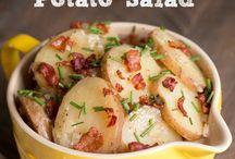 Crockpot / German hot potato Salade