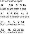 jar of hearts piano