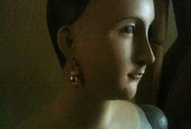 P1 STATUESQUE / Busts, Milliners Heads, Mannequins, Dress Forms