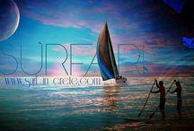 ~ sup tour sailing  ~ Surf in Crete ~