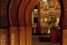 Moorish architecture and interior design