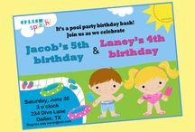 Birthday Parties  / by Brittney Newberry
