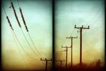 power lines,telephone pole