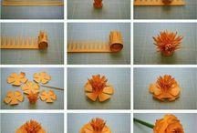 цветы сделать