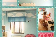 Deco girls / Ideas de decoración para habitaciones de niñas