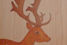 """""""my tiny friends""""  """"els meus petits amics"""" / oil & pencil on beech wood ·  oli & llapis sobre fusta de faig"""
