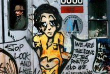 Old Skool Graffiti / subway
