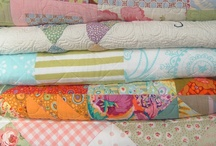 Quilts! / The best kind of sleep beneath Heaven above, is under a QUILT handmade with love. / by Tina Fichtel