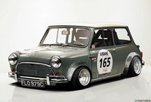 Auto-Mini vintage e- Moderne