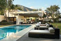 pool tiles deck quincho