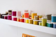 Sewing Room Ideas / by Linda Christie