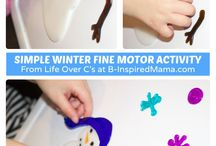 WINTER TIME / crafts and activities with a winter theme for kids