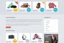 Ecommerce website designs / A selection of good ecommerce website designs