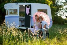 Vintage Caravan. Miss Violet Rose / Miss Violet is a 1963 Wayfarer Caravan.  We have fully restored her to her former glory! Caravan for hire| events| parties| weddings| photoshoots| corporate| media|  She will add pop to your next event!