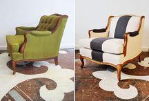 reDESIGN nábytku / Každý starý kus nábytku se dá zachránit!!!