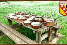 COPPER PANS AND POTS / COPPER PANS AND POTS