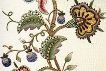 Embroidery: crewel