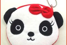 Pandaloon Accessories / Cute panda gifts and accessories. Panda plushies, keychains, jewelry, necklaces, earrings and more!