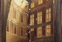 Schuiten & Peeters / One of my favorite comic book artist.